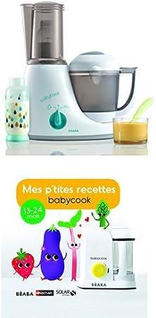 Béaba Babycook Original Plus GrisBleu + Livre Mes P'tites