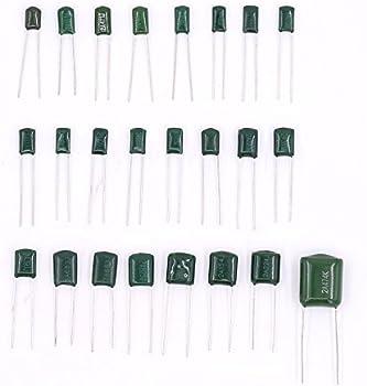 470NF Polyester Film Capacitor Assortment Kit Glarks 24 Value 700PCS 0.22NF