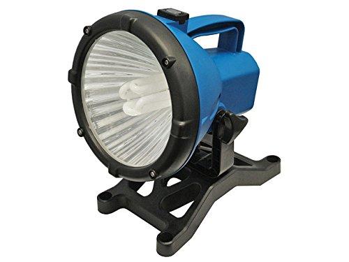 Faithfull Power Plus SLWORKLEL 110V Energiespar-Lampe Arbeitsleuchte mit Fuß FPP