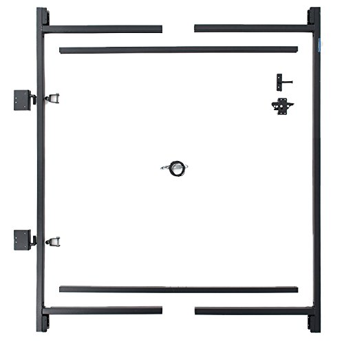 Adjust-A-Gate Steel Frame Gate Building Kit (60''-96'' wide openings up to 5' high fence) by Adjust-A-Gate