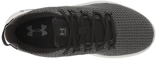 Ripple Graphite W Para Ua black Armour 004 004 Running De Graphite Negro Mujer Zapatillas Under wq4t1UP