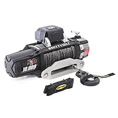Smittybilt X2O COMP - Waterproof Synthetic Rope Winch - 10,000 lb. Load Capacity: Smittybilt Products: Automotive