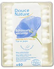 Douce Nature PRI 5024 babyhygiënestaafjes Bio Equita 60 stuks