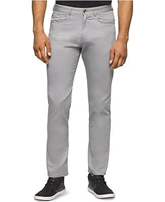 Calvin Klein Men's Slim-Fit Slub Dobby Pants