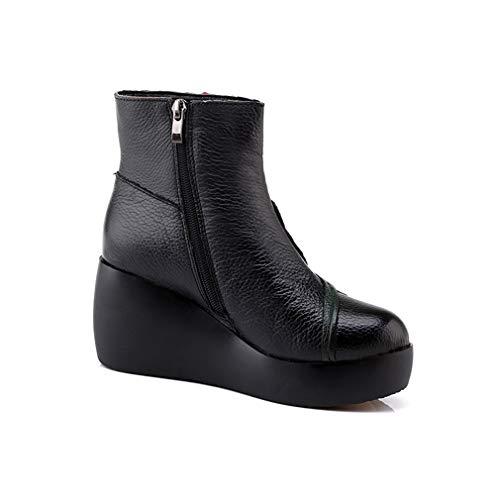 Moda Botas De 2019 Y Para Fiesta Noche Negro Mujer Otoño Zapatos Botines Yan Invierno Plataforma ZYwdRqqC