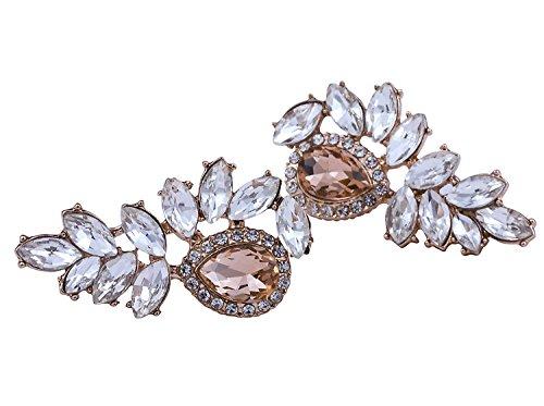 Vijiv Women's 1920s Gatsby Earrings Dangle Deco Jewelry for Party Wedding Prom Dresses by Vijiv (Image #2)