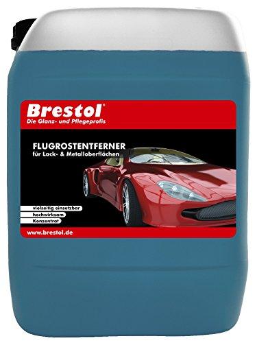 FLUGROSTENTFERNER (5 Liter) Konzentrat --- Lackoberflächen Metalloberflächen kleine Rostflecken Industriestaub Kalkrückstände -- Original Brestol