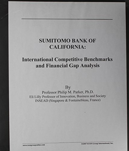 SUMITOMO BANK OF CALIFORNIA: International