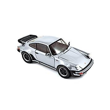 """Norev 187574 """"1:18 plata 1977 Porsche 911 Turbo 3.3L modelo coche"""