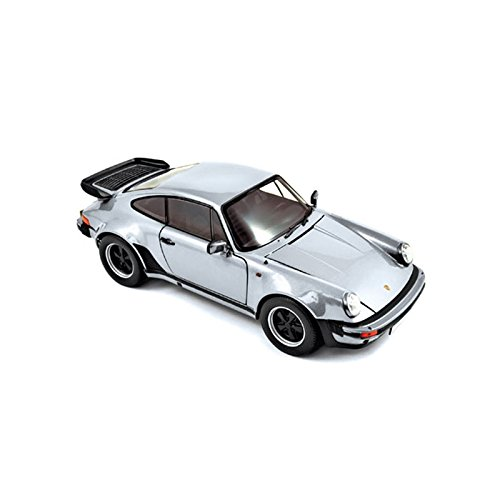 Norev 187574 1:18 silber 1977 Porsche 911 Turbo 3,3 Modell Auto