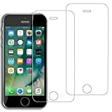 Tempered Glass Screen Protector for iPhone SE, iPhone 5S, iPhone 5C, iPhone 5