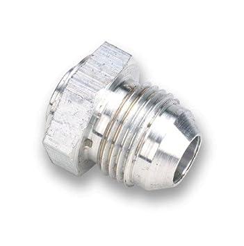 Boost Mono soldadura en macho aluminio -10 una pieza 6061 para drenaje de aceite Pan: Amazon.es: Coche y moto