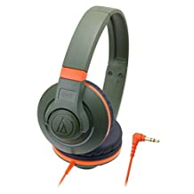 Audio-technica ATH-S300/KH Portable headphone STREET MONITORING ATHS300 Khaki