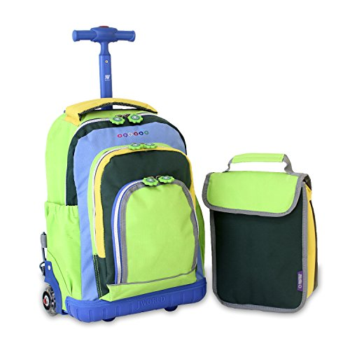 Rolling Backpack, Olive Kids by Wildkin Rolling Luggage with Telescopic Top Grab Handle and Convenient Extras for Quick and Easy Organization, Ages 3+ – Mermaids. by Wildkin. $ $ 34 99 $ Prime. FREE Shipping on eligible orders. 4 out of 5 stars Manufacturer recommended age: 3 - .