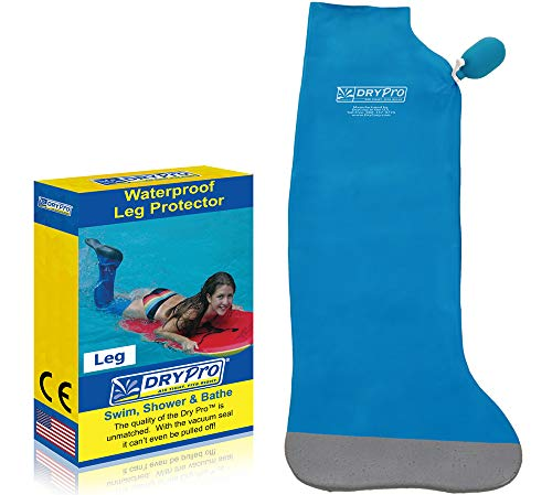DryPro Waterproof Vacuum Sealed Full Leg Cast Cover, X-Small