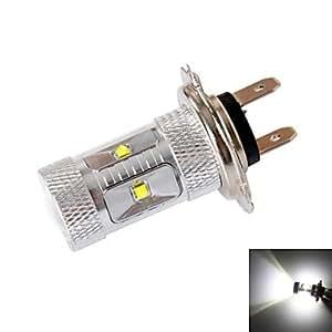 GDW gc h7 30w 6-cree XBD r3 600lm 6000k LED de luz blanca para proyector de coche (DC12 ~ 24v, 1pcs)