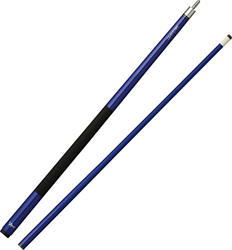 "Viper Graphstrike 58"" 2-Piece Fiberglass Graphite Composite Billiard/Pool Cue, Blue"