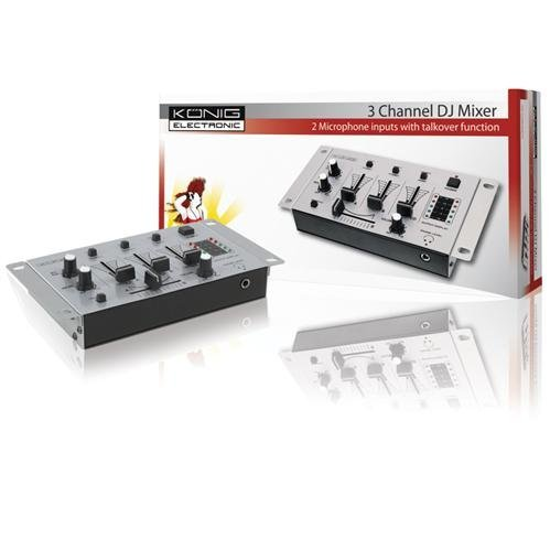 31 opinioni per Konig KN-DJMIXER10, Mixer Audio con 3