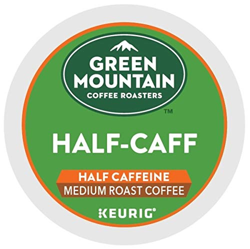 Green Mountain Coffee Medium Roast K-Cup for Keurig Brewers, Half-Caff Coffee, 96 Count by Green Mountain Coffee Roasters