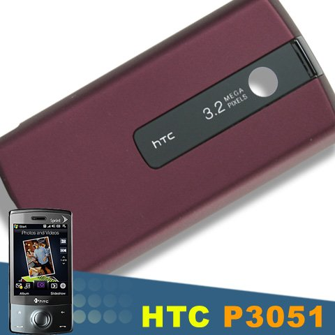 BURGANDY OEM BATTERY DOOR FOR THE HTC DIAMOND TOUCH