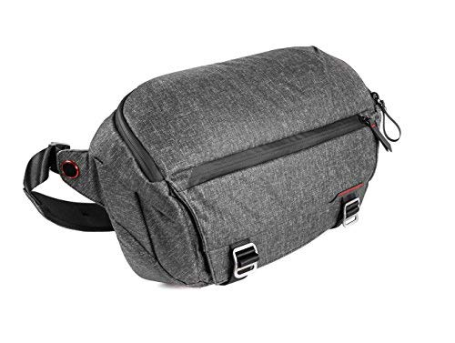 Peak Design Everyday Sling Case Charcoal-Camera Cases (Sling Case, Universal, Charcoal, Canvas, Synthetic, 33cm, 400mm)