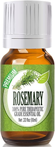 Rosemary Essential Oil (100% Pure - Best Therapeutic Grade) 10ml