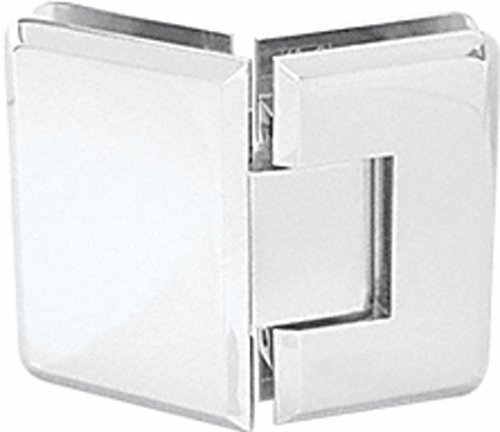 CRL Cologne 045 Series Satin Chrome 135° Glass-to-Glass Hinge
