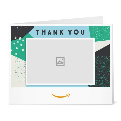 (Amazon Gift Card  -  Thank You Pattern (Your Upload))
