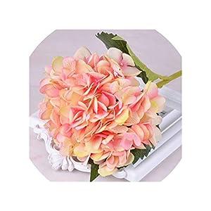 Wedding Artificial Peony Hydrangea Flower Home Wedding Party Birthday New Year Valentines Day Floral Decor,9 49