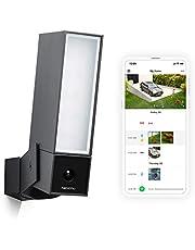 Netatmo Smart Outdoor Beveiligingscamera, Wi-Fi, Geïntegreerde Schijnwerper, Bewegingsdetectie, Nachtzicht, Zonder Vergoedingen, NOC01-UK (Aanwezigheid)