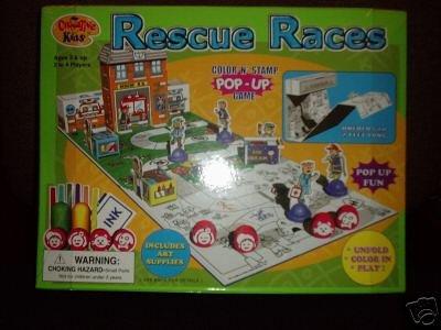 Rescue Race - Fireman Board Game