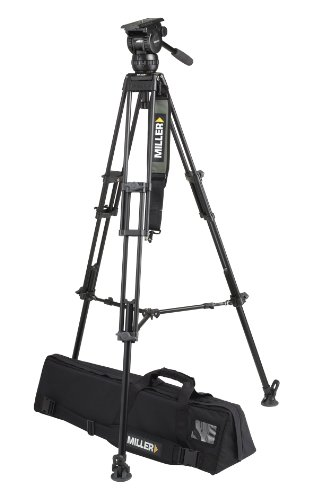 Miller 1841 Compass 20 ENG Tripod (Black/Silver) by Miller Camera Support LLC USA