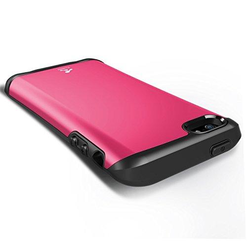 Verus Thor harte Bumper Schutzhülle für Apple iPhone 5 Hot Pink