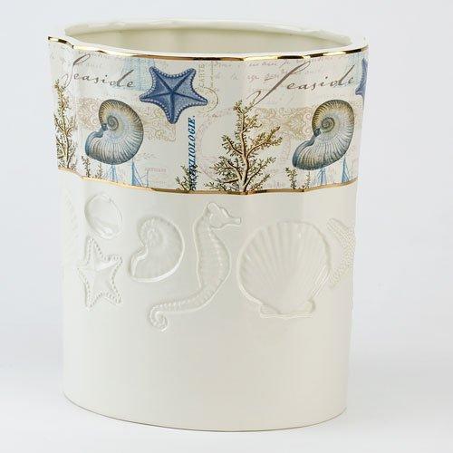 Avanti Antigua Wastebasket Ivory (Collection Avanti)