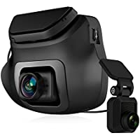 Z-EDGE S3 Dual Dash Cam - Ultra HD 1440P Front & 1080P Rear 150 Degree Wide Angle Dual Lens Car Camera, Front and Rear Dash Cam, Dashboard Camera with G-Sensor, WDR, Night Mode & 16GB card