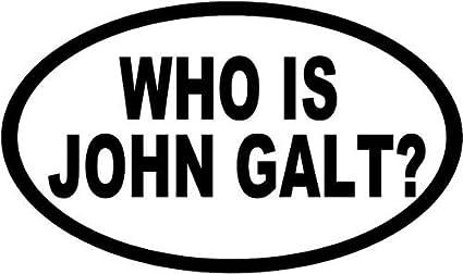 Amazon Com Who Is John Galt Movies Vinyl Decal Sticker