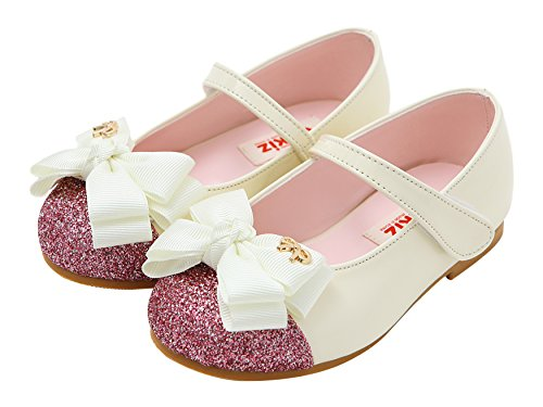 Shoes Girls Ivory with Mary Little Ozkiz Jane Casual Ribbon Dress Flats qwv8P0