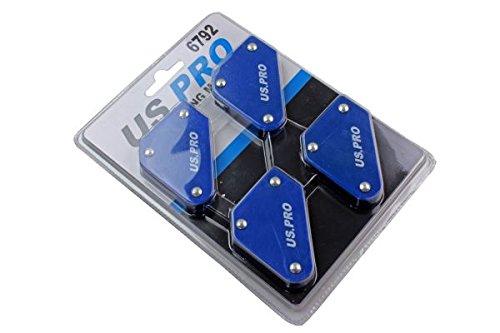 BERGEN Pack de 4 supports dangle soudure magn/étique 9lb BER6680