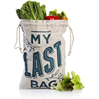 Guilt Free Pantry - Reusable Produce Bags - Zero Waste - Eco Friendly - Ideal Storage For Fruit Vegetables & Groceries - Tare Weight Printed On Bag - Made With Natural Sustainable Breathable Hemp