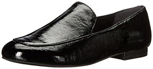 Kenneth Cole New York Women's Westley Flat Patent Slip-on Loafer Black z0JfRBMI