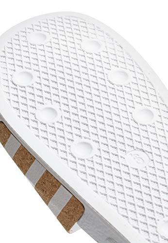 Donna Scarpe Adilette Bianco Immersione da adidas W wg7HB6Hq