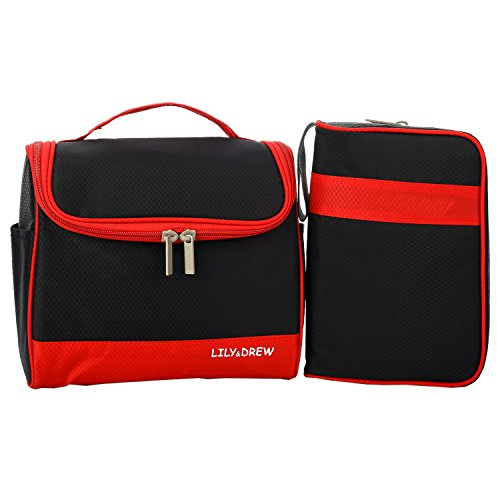 Waterproof 5-Piece Packing Bags (Red) - 3