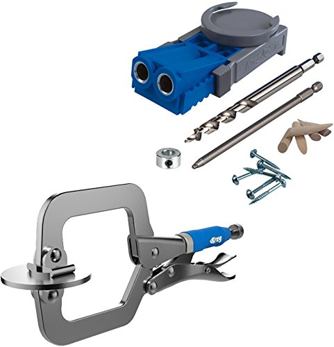R3-Promo Kreg R3 Jig Pocket Hole Kit With Free Classic Clamp Pack-In by Kreg