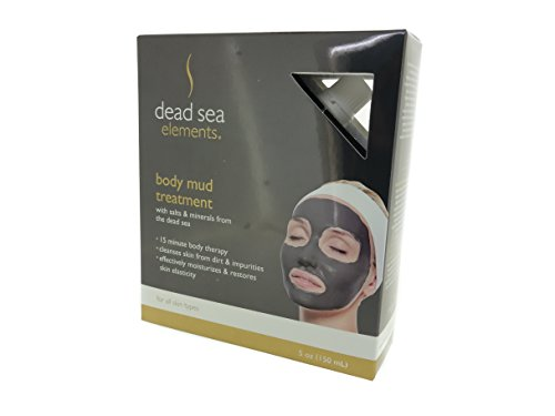 Dead Sea Elements Body Mud Treatment - 5 oz (150 mL) -