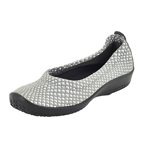 Arcopedico 4241 L15 Grey/White Womens Slip-On Size 38M
