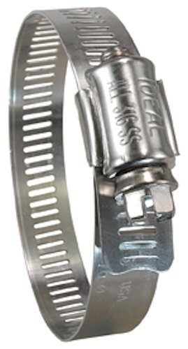 Ideal-Tridon 6772651 67-6 Series Marine Grade 1//2 Band 316 Stainless Steel Clamp