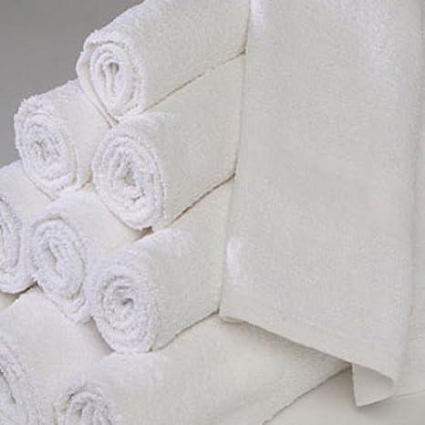 Al por mayor Hotel/Motel toallas de mano 1,4 kg 16 x 27 - 1 docena: Amazon.es: Hogar