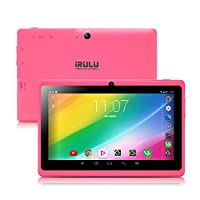 iRULU eXpro 3 Tablet (X3)-X37,Google Android 6.0, Quad Core, HD 1024x600, Dual Camera, Wi-Fi, 1GB/8GB, 3D Game Supported, 7 inch Tablet with GMS Certified