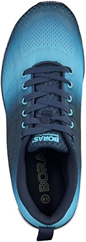 Blau in Schuhe Sneaker Herren Übergrößen Schwarz Boras H1UYxqH