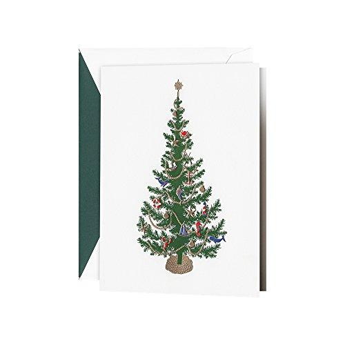 Crane & Co. Seaside Christmas Greeting Card, 10 Cards, 10...